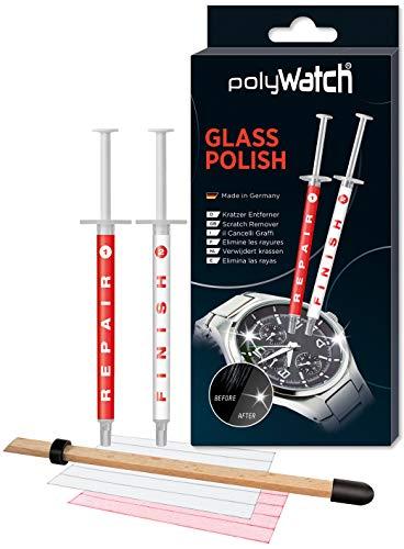 PolyWatch Glass Polish | Glaspolitur Kratzer | Kratzer Entferner Uhr | Glas Kratzer Entferner