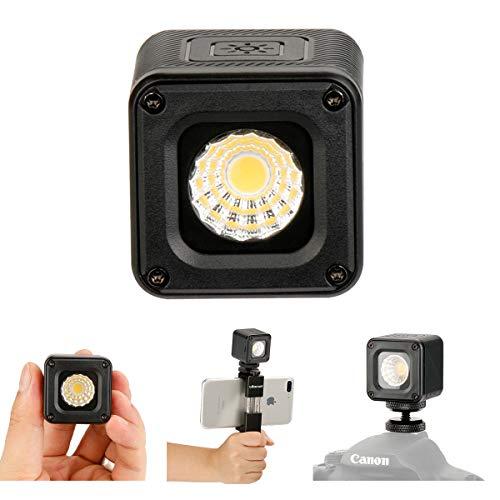ULANZI L1 Versátil Mini LED Luz Profesional Aventura a Prueba de Agua Iluminación para Smartphone dji Gopro Canon Nikon Cámara Submarino, Bicicleta Camping Fotografía Video