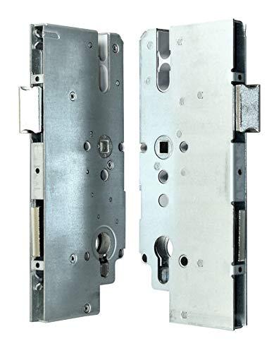 KFV Reparatur Schlosskasten Hauptschloss AS 8772 Dornmaß: 65mm (62mm) / Entfernung: 72mm, incl. SN-TEC® Montagematerial zum Schrauben und Nieten & SN-TEC® Montageanleitung