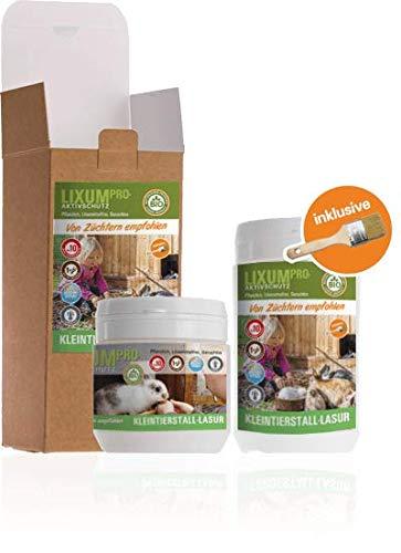 Lixum Pro Kleintierstall Lasur - farblos - 1000 ml