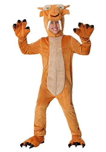 Diego the Sabertooth Tiger Costume for Boys X-Small
