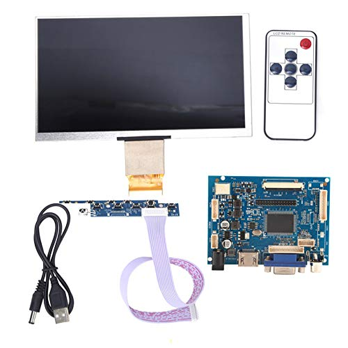 7 inch TFT LCD Display HDMI VGA Monitor Screen Kit 1024   600 Compatible Raspberry Pi 3/2