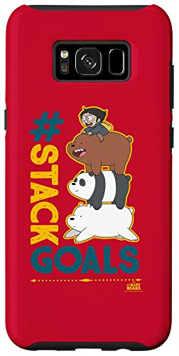 Galaxy S8+ We Bare Bears Stack Goals Case