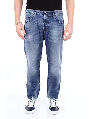 Diesel Herren Jeans Thommer 0853P Slim Fit Blue (82) 34/30