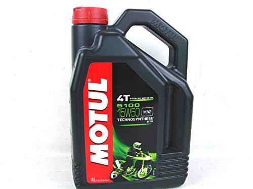 1x4 Liter Motul 5100 4-Takt SAE 15W50 Motorrad Motorenöl Motoröl Öl ESTER