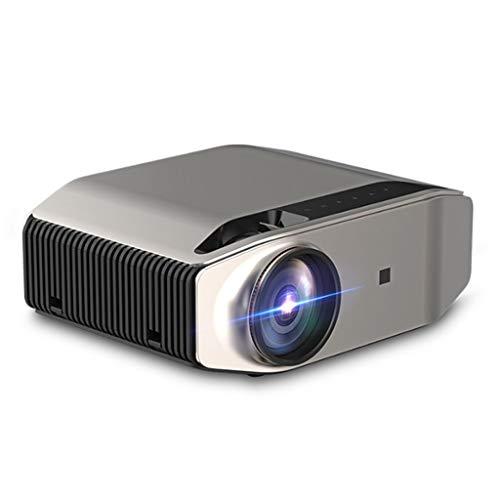 beamer LIU- Projektor-Projektor Handy-Bildschirm Home Lehre 1080P HD Projektor, HDMI-Schnittstelle * 2VGA Schnittstelle, Geeignet for Home Entertainment, Party