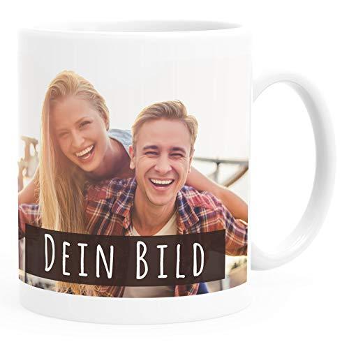 SpecialMe® personalisierte Fototasse mit eigenem Foto persönliches Geschenk Kaffeetasse mit Bild selbst gestalten weiß Keramik-Tasse
