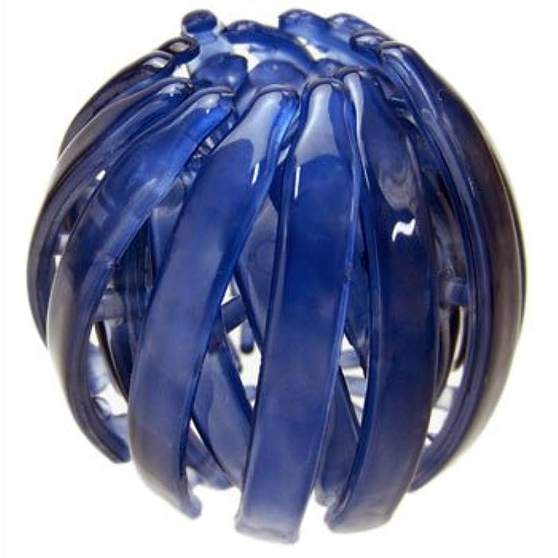 アーチ無力発疹harlm002nndbl ヘアアクセサリー 髪飾り (リトルムーン) ヘアリング マルチクリップ(スクリューボール) ネイビーブルー ヘアアクセサリー 髪飾り