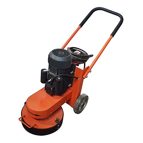 INTBUYING Grinders 15 Inch Walk-Behind Electric Floor Grinder Cement Ground Concrete Polishing Machine Dust Extraction 220V
