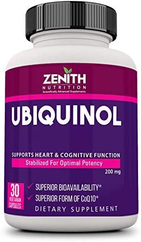 Anjani Alternative dealer Zenith Nutrition Ubiquinol Ranking TOP6 mg 200