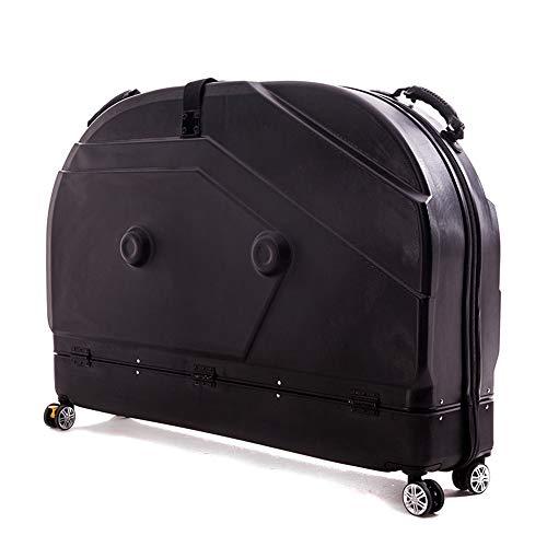 RIYIFER - Funda de viaje para bicicleta, incluye 4 ruedas universales, bolsa de viaje para bicicleta, material de PC, funda protectora para bicicleta de carretera, BTT, bolsa de transporte