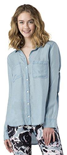 Mott50 Women's Morgan T-Shirt, Light Chambray, X-Small