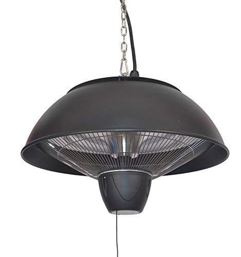 Firefly 1.500 Watt Infrarot-Heizstrahler (Halogen) Terrassenheizung, Deckenmontage, schwarz - 3