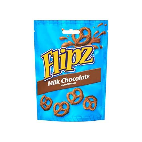 Pretzel al cioccolato | Flipz | Pretzels ricoperti di cioccolato al latte | Peso totale 100 grammi