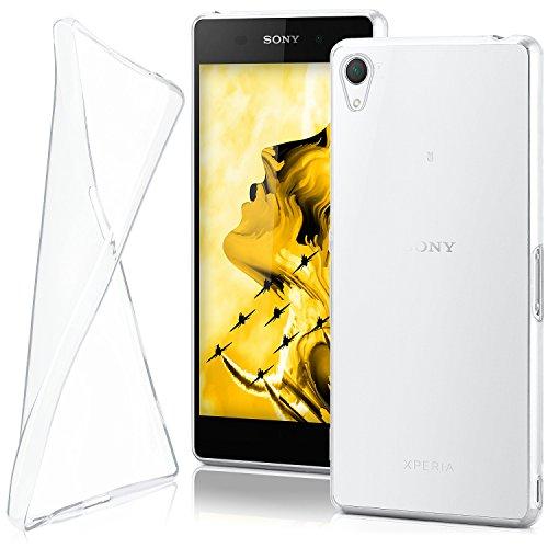 MoEx® AERO Case Transparente Handyhülle passend für Sony Xperia Z2 | Hülle Silikon Dünn - Handy Schutzhülle, Durchsichtig Klar