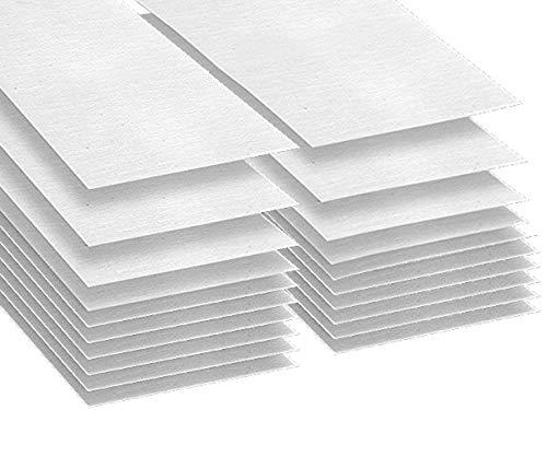 Printable Inkjet Primed Gessoed 8.5' x 11' Canvas Paper Sheets (20 Sheets)