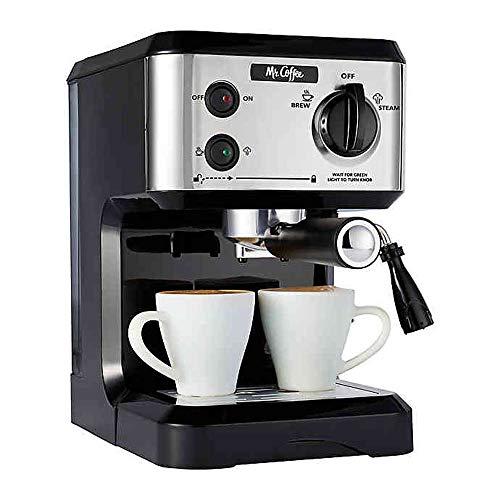 Mr. Coffee BVMC-ECMP80 Home Kitchen Italian 19 Bar Pump Automatic Espresso Maker Machine