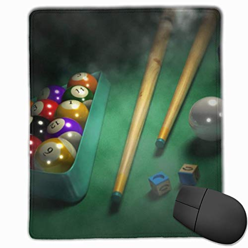 Smooth Mouse Pad, Billardspiel Mobile Gaming Mousepad Work Mouse Pad Office Pad