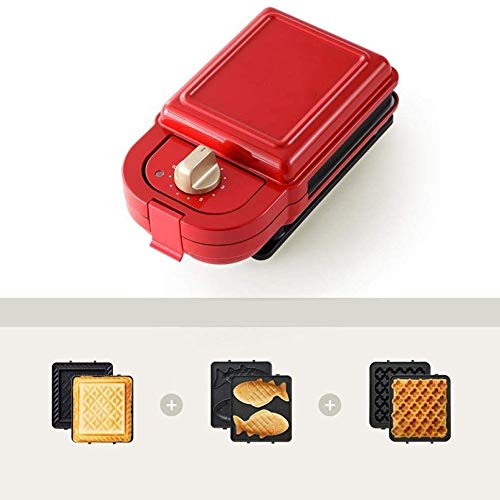 Great Features Of Waffle Maker, Sandwich Maker, Sandwich Grill, Easy Clean Removable Non-stick Coati...