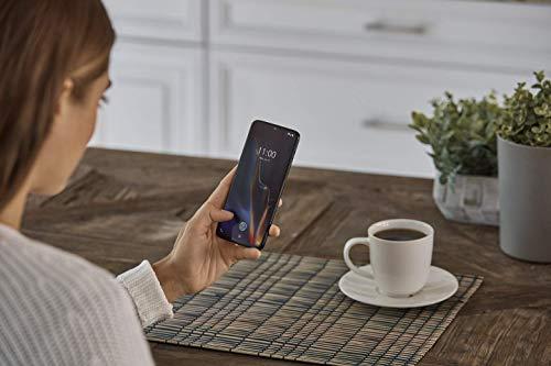 OnePlus 6T Smartphone 8 GB RAM + 128 Memoria, Nero (Mirror Black)
