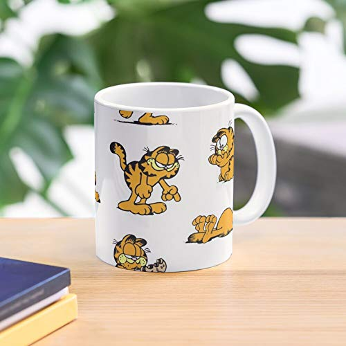 5TheWay Moods of Many The Garfield Series Mug Best 11 oz Kaffeebecher - Nespresso Tassen Kaffee Motive