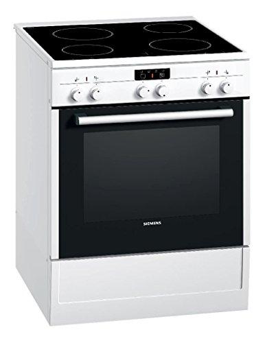 Siemens HC422210 Standherd / A / Kochfeld: Ceran / Herdfarbe: weiß / eco Plus