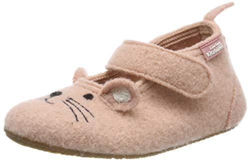 Living Kitzbühel Baby Mädchen Babyballerina Mäuschen Hausschuhe, Pink (Rose Cloud 331), 29 EU