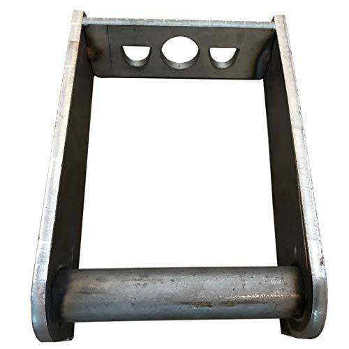 Rahmen MS01 Aufnahme zum anschweißen/Schnellwechsel Adapter SW01 Minibagger