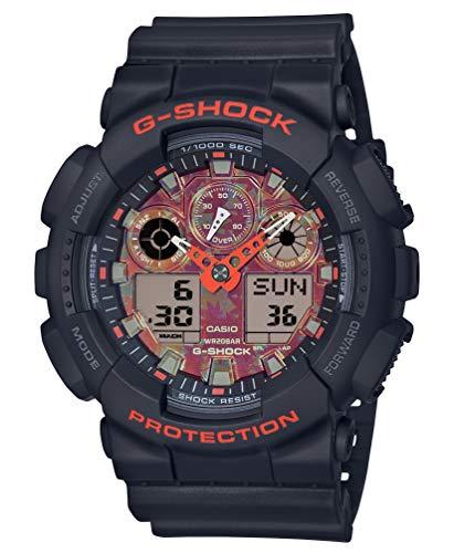 [カシオ] 腕時計 ジーショック Kyo Momiji Color GA-100TAL-1AJR メンズ