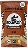 Koawach Pur Kakaopulver Trinkschokolade – Koffein Kakao Zuckerfrei Guarana Vegan heiße Schokolade Getränk ohne Zucker Energy Drink Backkakao Bio Fairtrade (100g)