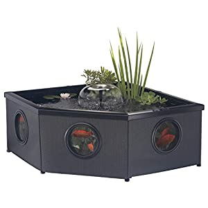 Blagdon Affinity Grand Corner Living Water Feature Pool, Comes with Inpond 5-in-1 3000 Filter Pump with UV C...