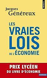 Les vraies lois de l'économie de Jacques Généreux