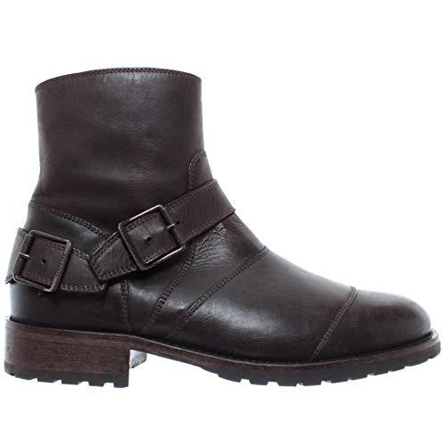 Belstaff Herren Stiefeletten Schuhe 77800256 Trialmaster Blackbrown Leder Neu