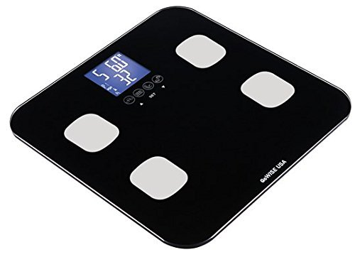 Cheap GoWISE USA Digital Body Fat Scale - FDA Approved - Measures Weight, Body Fat, Water & Bone Mas...