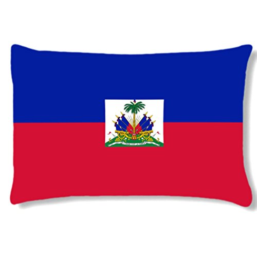 Grand coussin rectangulaire Haiti by Cbkreation