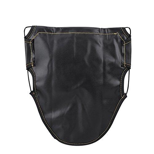 Satteltasche für Motorrad, Scooter unter dem Organizer der Tasche zur Aufbewahrung des Sitzes, PU-Leder