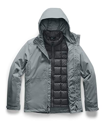 The North Face Men's Altier Down Triclimate Jacket, Mid Grey/Asphalt Grey, Medium