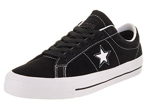 Converse Skate One Star Pro Ox, Zapatillas Unisex Adulto, Negro (Black/White/White 001), 44 EU