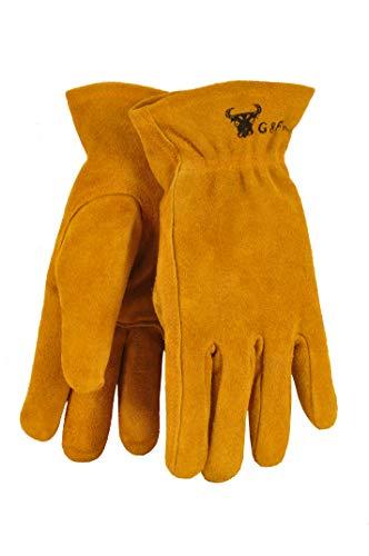 G & F Kids Genuine Leather Work Gloves
