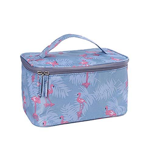 Cosmétique Sac Femmes Voyage Make Up Nécessaires Organisateur Zipper Maquillage Cas Pochette Trousse De Toilette Bags24 * 16 * 14 cm-Blue_Crane_24 * 16 * 14 cm