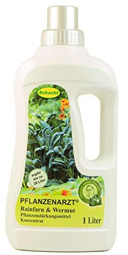 PFLANZENARZT® Rainfarn & Wermut Konzentrat, Pflanzenstärkungsmittel zum Gießen und Sprühen für schädlingsanfällige Pflanzen, 1 Liter