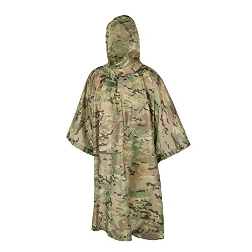 Helikon-Tex impermeabile Poncho Ripstop Camogrom