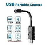 WXJHA 4K WiFi Edition HD Smart Mini-USB-Kamera-Weitwinkelkamera Remote Network Kleine Kamera-Monitor IP-Kamera für