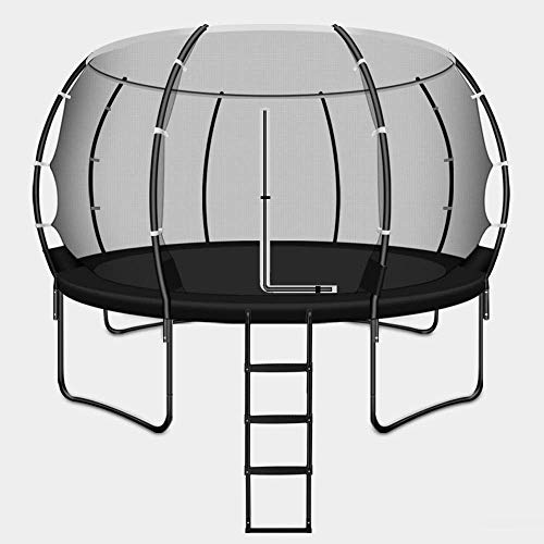 Trampoline Rectangular Barrel Trampoline High Specification with Safety Enclosure Netting and Ladder pink trampoline,trampoline net Safe and durable products