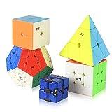 QIYI Speed Cube Set, 5 Pack Puzzle Cube...