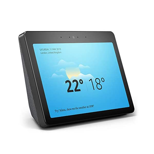 Echo Show (2nd Gen) – Stay in touch with the help of Alexa – Black 1