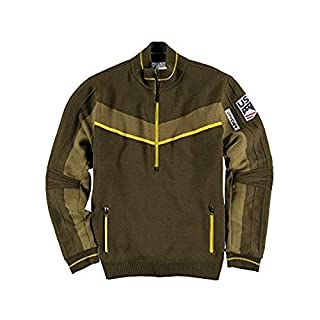 Spyder Active Sports Men's U.S. Ski Team Era GORE-TEX Infinium Lined Half Zip Sweater, Dark Olive, X-Large (B07MBKV9G8) | Amazon price tracker / tracking, Amazon price history charts, Amazon price watches, Amazon price drop alerts