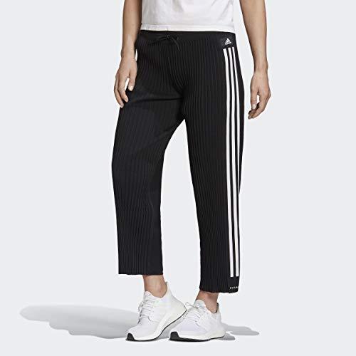 adidas Knitted Pleat Pantaloni, Nero, S Donna