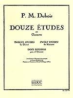 12 ETUDES CLARINETTE