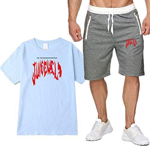 Camisa Polo para Hombres Y Mujeres Ropa Deportiva De Golf De Manga Corta Fresca Camiseta De Jugo Camiseta Informal Pantalones De 5 Puntos Traje M